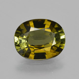 thumb image of 1.4ct Oval Facet Golden Green Tourmaline (ID: 413326)