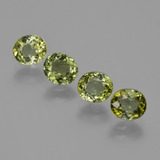 thumb image of 3.2ct Oval Facet Green Tourmaline (ID: 413341)