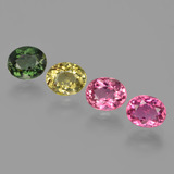 thumb image of 2.7ct Oval Facet Multicolor Tourmaline (ID: 413342)