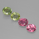 thumb image of 2.9ct Oval Facet Multicolor Tourmaline (ID: 413392)