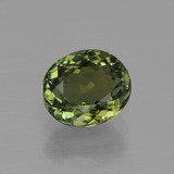 thumb image of 1.2ct Oval Facet Green Tourmaline (ID: 415250)