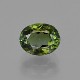 thumb image of 1.1ct Oval Facet Green Tourmaline (ID: 415257)