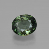 thumb image of 1.3ct Oval Facet Green Tourmaline (ID: 415258)