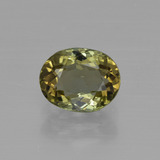 thumb image of 1.1ct Oval Facet Golden Green Tourmaline (ID: 415260)