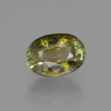 thumb image of 1.2ct Oval Facet Golden Green Tourmaline (ID: 415326)