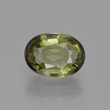 thumb image of 1.2ct Oval Facet Golden Green Tourmaline (ID: 415331)