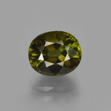 thumb image of 2.4ct Oval Facet Golden Green Tourmaline (ID: 416475)