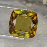 thumb image of 4.6ct Cushion-Cut Greenish Golden Tourmaline (ID: 416479)