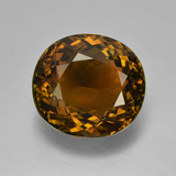 thumb image of 8.8ct Oval Facet Greenish Golden Tourmaline (ID: 417189)