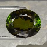 thumb image of 13.7ct Oval Facet Golden Green Tourmaline (ID: 417190)