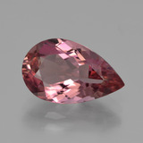 thumb image of 3.1ct Pear Facet Rose Pink Tourmaline (ID: 417204)