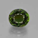 thumb image of 3.5ct Oval Portuguese-Cut Green Tourmaline (ID: 417213)