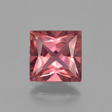 thumb image of 2.3ct Princess-Cut Pink Rose Tourmaline (ID: 417229)