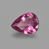1.82 ct Pear Facet Pink Tourmaline Gem 10.11 mm x 7.8 mm (Photo B)