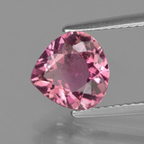 1.90 ct Pear Facet Rose Pink Tourmaline Gem 8.62 mm x 8.6 mm (Photo B)