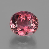 thumb image of 4.1ct Oval Facet Rose Pink Tourmaline (ID: 417491)