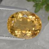thumb image of 4.7ct Oval Facet Canary Yellow Tourmaline (ID: 417496)