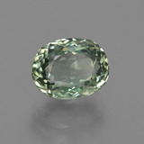 3.41 ct Oval Portuguese-Cut Green Tourmaline Gem 9.46 mm x 7.4 mm (Photo B)