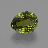 thumb image of 3.4ct Pear Facet Golden Green Tourmaline (ID: 417937)