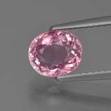 thumb image of 1.3ct Oval Facet Pink Tourmaline (ID: 419522)
