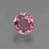 thumb image of 1.4ct Round Facet Rose Pink Tourmaline (ID: 419553)