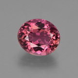 thumb image of 2ct Oval Facet Rose Pink Tourmaline (ID: 419624)