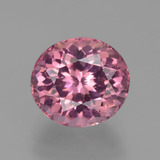 thumb image of 3.1ct Oval Facet Pink Tourmaline (ID: 419710)