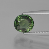 thumb image of 1ct Oval Facet Green Tourmaline (ID: 419818)