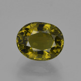 thumb image of 1.2ct Oval Facet Golden Green Tourmaline (ID: 419849)