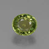 thumb image of 1.2ct Oval Facet Golden Green Tourmaline (ID: 419852)