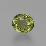 thumb image of 1.1ct Oval Facet Golden Green Tourmaline (ID: 419859)