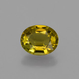 thumb image of 0.7ct Oval Facet Golden Green Tourmaline (ID: 420019)