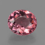 thumb image of 2.4ct Oval Facet Rose Pink Tourmaline (ID: 420637)
