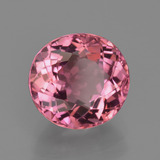 2.60 ct Oval Facet Rose Pink Tourmaline Gem 8.56 mm x 8 mm (Photo B)