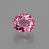 thumb image of 1.1ct Oval Facet Rose Pink Tourmaline (ID: 424166)