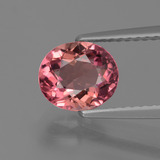 thumb image of 1.4ct Oval Facet Pink Rose Tourmaline (ID: 424171)