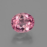 thumb image of 1.6ct Oval Facet Rose Pink Tourmaline (ID: 424174)