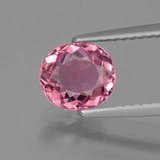 thumb image of 1.2ct Oval Facet Rose Pink Tourmaline (ID: 424177)