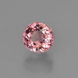 1.12 ct Oval Facet Rose Pink Tourmaline Gem 5.95 mm x 5.7 mm (Photo B)