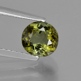 thumb image of 1ct Oval Facet Golden Green Tourmaline (ID: 425614)