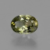 thumb image of 1ct Oval Facet Golden Green Tourmaline (ID: 425615)