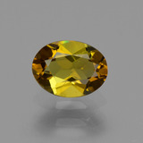 thumb image of 0.6ct Oval Facet Golden Green Tourmaline (ID: 425754)