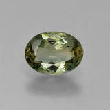 thumb image of 0.9ct Oval Facet Green Tourmaline (ID: 426105)
