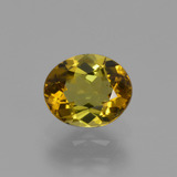 thumb image of 1ct Oval Facet Golden Green Tourmaline (ID: 426164)