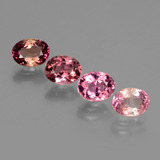 thumb image of 3.1ct Oval Facet Multi Pink Tourmaline (ID: 434348)