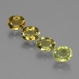 thumb image of 3.2ct Oval Facet Golden Green Tourmaline (ID: 434357)