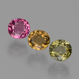 thumb image of 2.2ct Oval Facet Multicolor Tourmaline (ID: 434654)