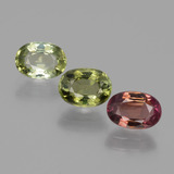 thumb image of 2.6ct Oval Facet Multicolor Tourmaline (ID: 434655)