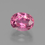 thumb image of 2.9ct Oval Facet Pink Tourmaline (ID: 441190)