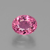 thumb image of 2.7ct Oval Facet Pink Tourmaline (ID: 441191)